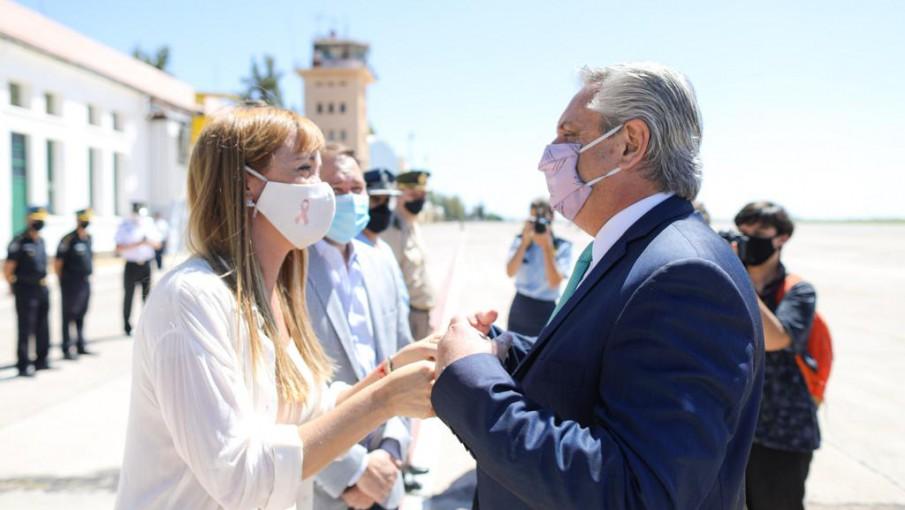 Fernández Sagasti prometió que la Nación incluirá a Mendoza en la promoción del empleo