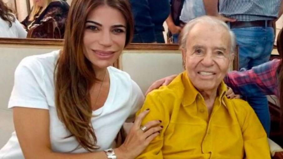 """Zulemita"""" pide que recen por Carlos Menem - Noticias de Mendoza - Memo"""