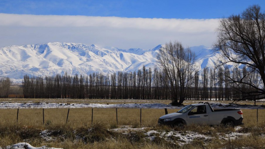 Nevadas tempranas, la causa de otro año de sequía para Mendoza